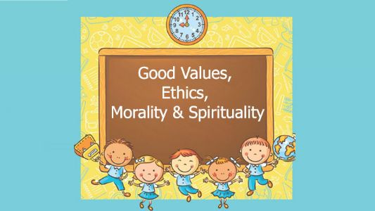Polishing GEMS (Good Values, Ethics, Morality & Spirituality)